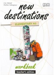 Зошит вчителя New Destinations Elementary A1.2 Workbook Teacher's Edition