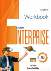 Зошит New Enterprise A2 Workbook with Digibooks App