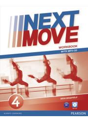 Зошит Next Move 4 Workbook + MP3 Audio