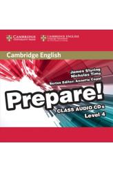 Аудіо диск Cambridge English Prepare! 4 Class Audio CDs