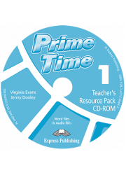 Диск з тестами Prime Time 1 Teacher's Resourse Pack CD-ROM