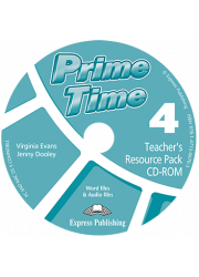 Диск з тестами Prime Time 4 Teacher's Resourse Pack CD-ROM