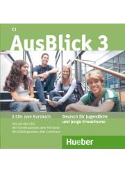 Аудіо диск AusBlick 3 Audio CDs zum Kursbuch