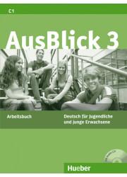 Робочий зошит Ausblick 3 Arbeitsbuch mit Audio-CD