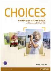 Книга для вчителя Choices Elementary Teacher's Book & Multi-ROM Pack