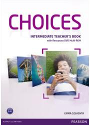 Книга для вчителя Choices Intermediate Teacher's Book & Multi-ROM Pack