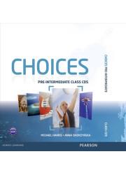 Аудіо диск Choices Pre-Intermediate Class Audio CD