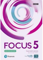 Книга вчителя Focus 2nd Edition 5 Teacher's Book with Online Practice Pack