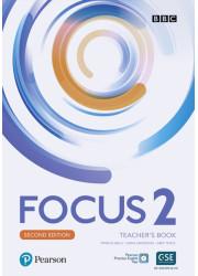 Книга вчителя Focus 2nd Edition 2 Teacher's Book with Online Practice Pack