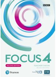 Книга вчителя Focus 2nd Edition 4 Teacher's Book with Online Practice Pack