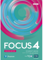 Підручник Focus 2nd Edition 4 Student's Book with PEP Basic Pack