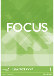 Книга для вчителя Focus 1 Teacher's Book + DVD-ROM