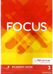 Підручник Focus 3 Student's Book with MyEnglishLab