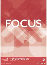 Книга для вчителя Focus 3 Teacher's Book + DVD-ROM
