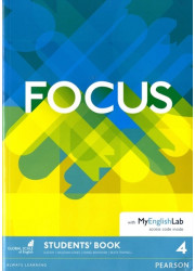 Підручник Focus 4 Student's Book with MyEnglishLab