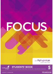 Підручник Focus 5 Student's Book with MyEnglishLab