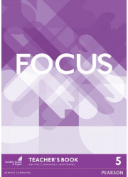 Книга для вчителя Focus 5 Teacher's Book + DVD-ROM