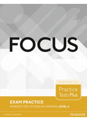 Підручник Focus Exam Practice Pearson Tests of English General Level 4