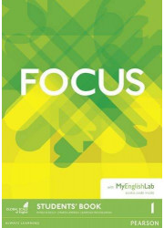 Підручник Focus 1 Student's Book with MyEnglishLab