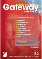 Книга для вчителя Gateway 2nd Edition B2 Teacher's Book Premium Pack