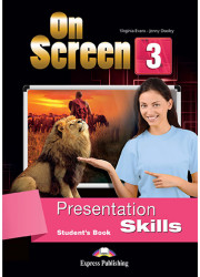 Підручник On Screen 3 Presentation Skills Student's Book