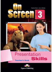 Книга вчителя On Screen 3 Presentation Skills Teacher's Book