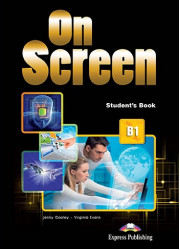 Підручник On Screen B1 Student's Book with Writing Book