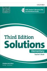 Книга вчителя Solutions 3rd Edition Elementary Teacher's Book