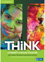Підручник Think Starter Student's Book with Online Workbook and Online Practice