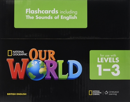 Картки Our World 1-3 Flashcards  Початкова школа  National Geographic Learning