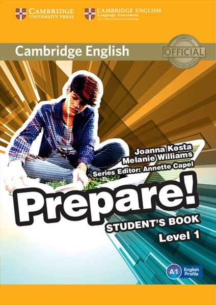 Cambridge English Prepare!  Середня і старша школа  Cambridge University Press