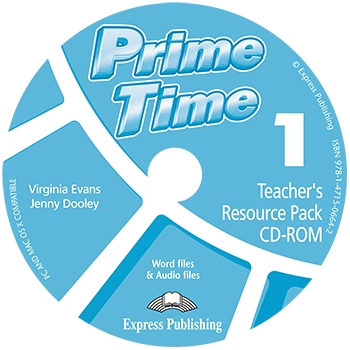 Диск з тестами Prime Time 1 Teacher's Resourse Pack CD-ROM  Середня і старша школа  Express Publishing